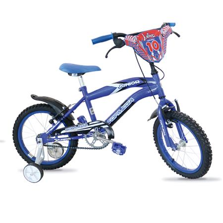 "BICICLETA TOPMEGA CROSS 12"" VARON JUNIOR AZUL - 321013AZU"